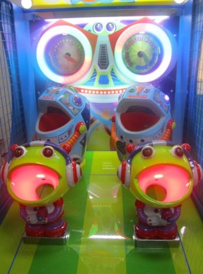 Atro Invasion - Playfield