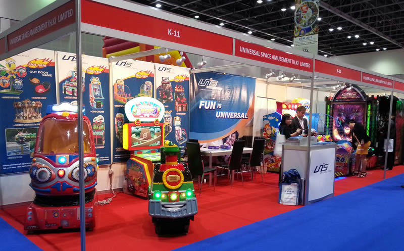 UNIS at Dubai Show 2013