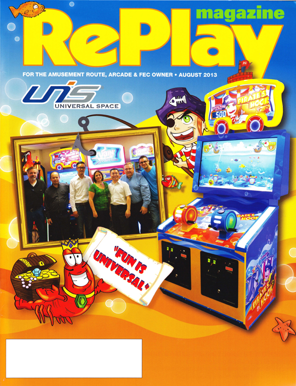 Replay Cover Story August 2013