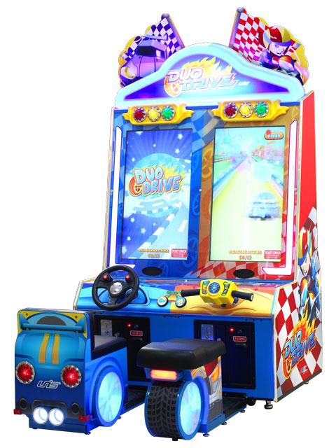 Duo drive kiddie racing game