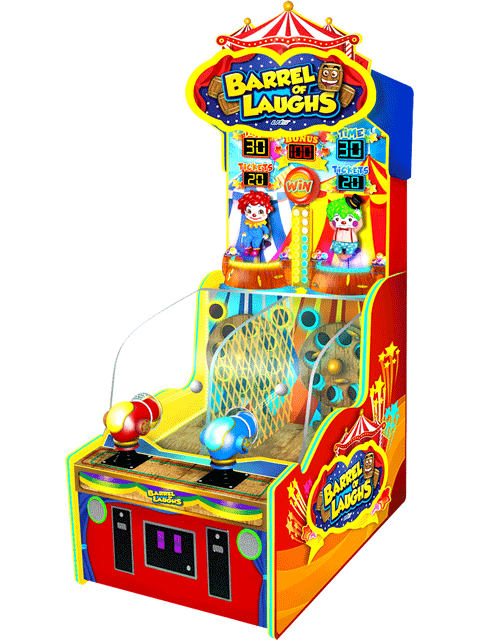 Barrel of Laughs Redemption Machine
