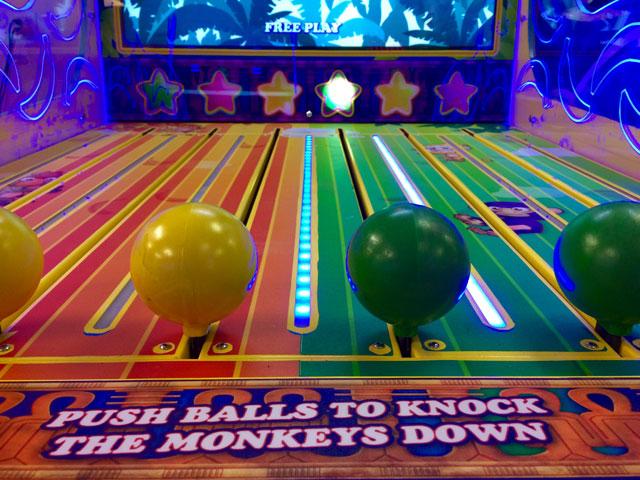 Monkey Shake Down Redemption Game