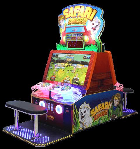 Safari Ranger Redemption Machine