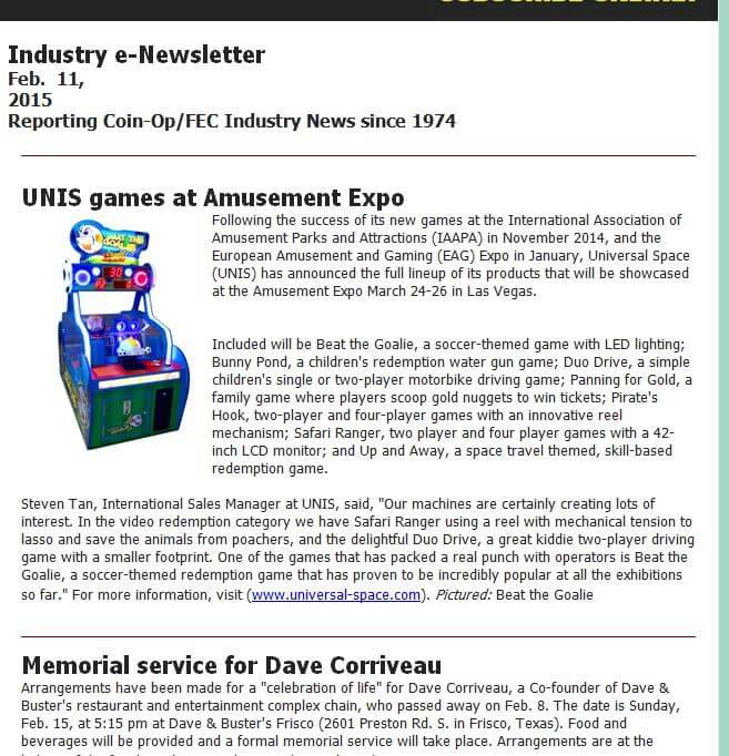 Amusement Expo – Playmeter