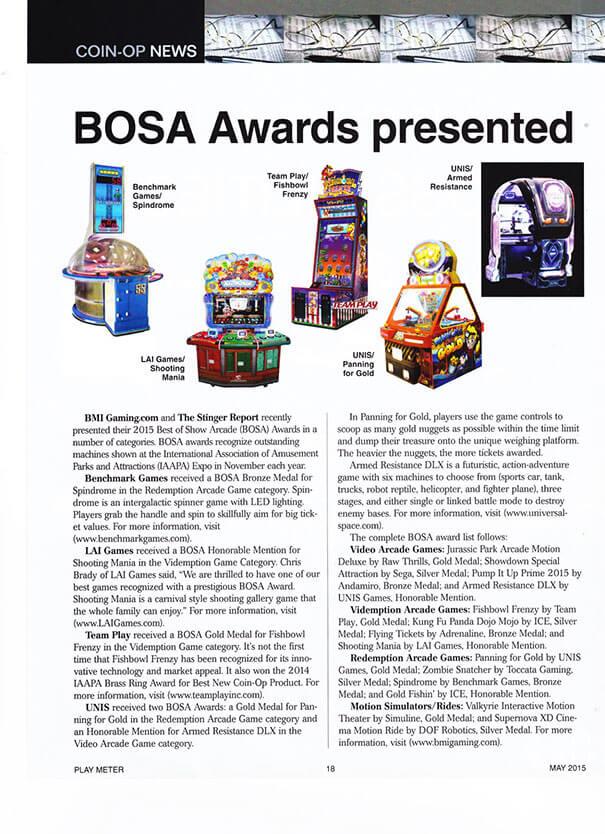 Playmeter May 15 – BOSA Awards