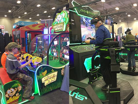 UNIS exhibits at Dallas Amusement Expo 2017