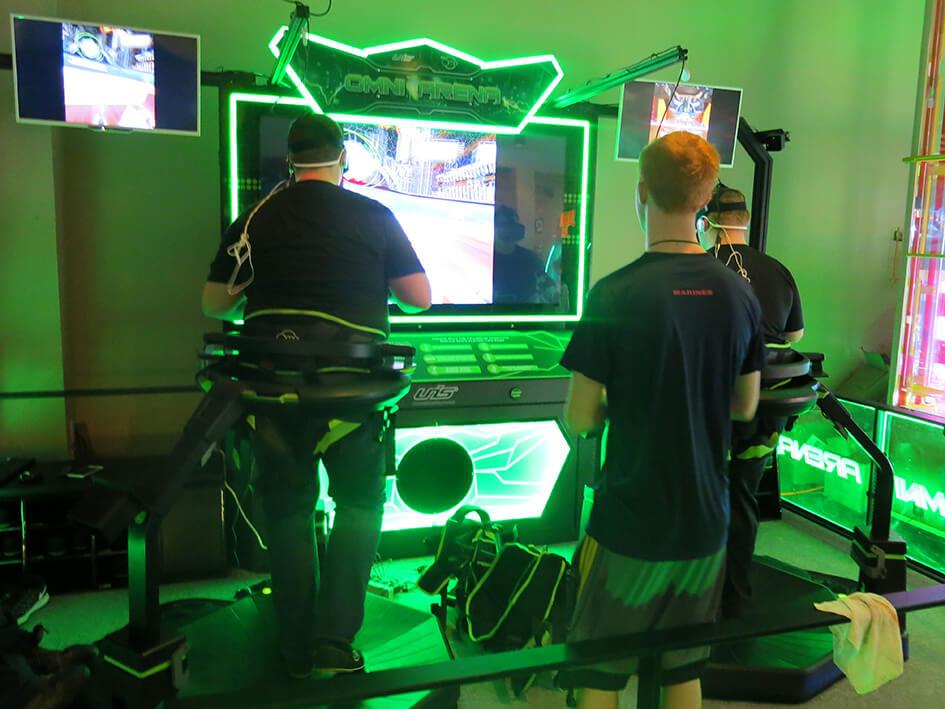 Omni Arena (2-Player) installation in Ohio